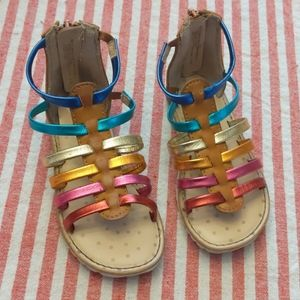 Rainbow Strappy sandal